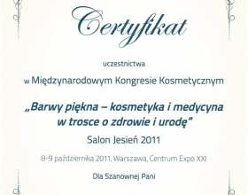 certyfikat Sylwia Dębiec-Babicz